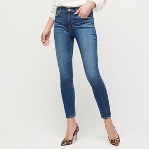 """J.Crew 9"""" High Rise Toothpick Jeans"""